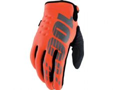 100% 2019 Brisker Cold Weather Glove Fluo Orange
